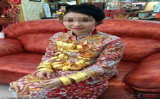 عروسی مجلل به سبک چینی +عکس