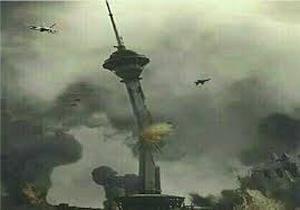 ماجرای تهدید نظامی عربستان با انتشار تصویر حمله به برج میلاد +عکس