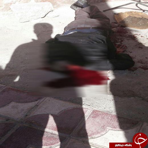 قتل و وحشت در خیابان توحید شهرستان کازرون + فیلم و تصاویر