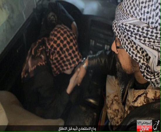 پدر داعشی پسرش را راهی عملیات انتحاری کرد + عکس