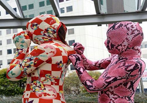 روش عجیب ژاپنیها برای فرار از فشارهای عصبی + تصاویر