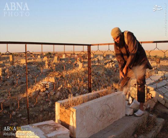 مردگان سوریه هم از دست داعشیها آرامش ندارند +عکس