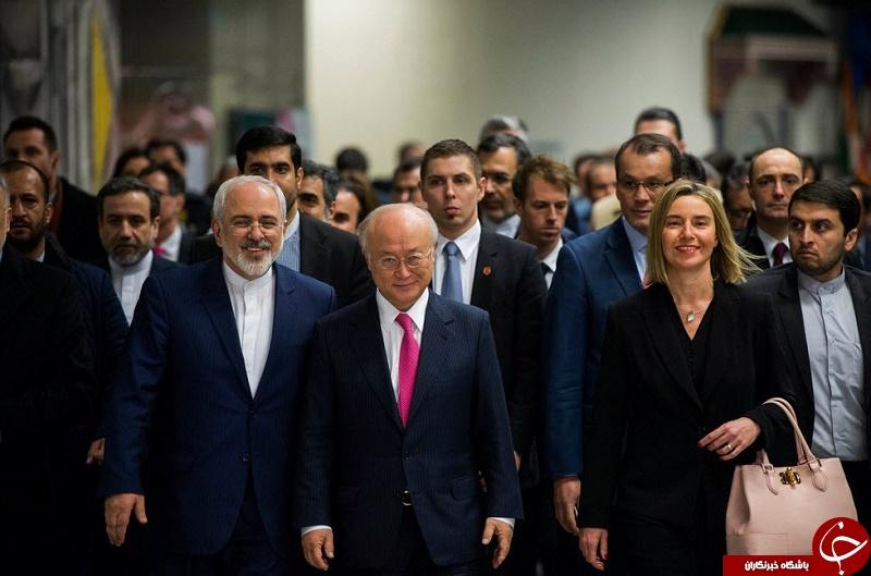 عکس منتخب نیویورک تایمز از پایان مذاکرات
