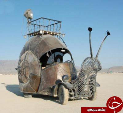 ماشین های عجیب و غریب + تصاویر
