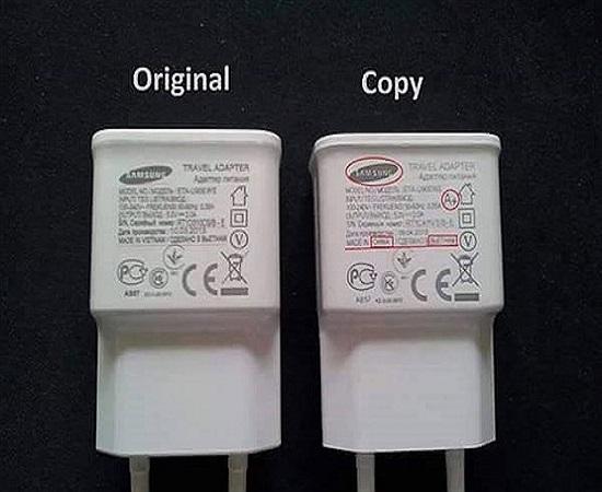 تفاوت شارژرهای اصلی و تقلبی