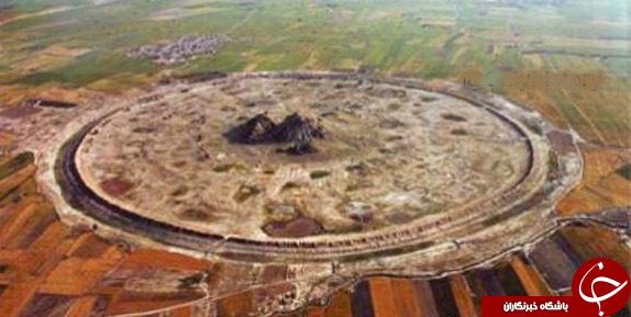 طولانیترین دیوارگلی ۲۵۰۰ ساله دنیا + عکس
