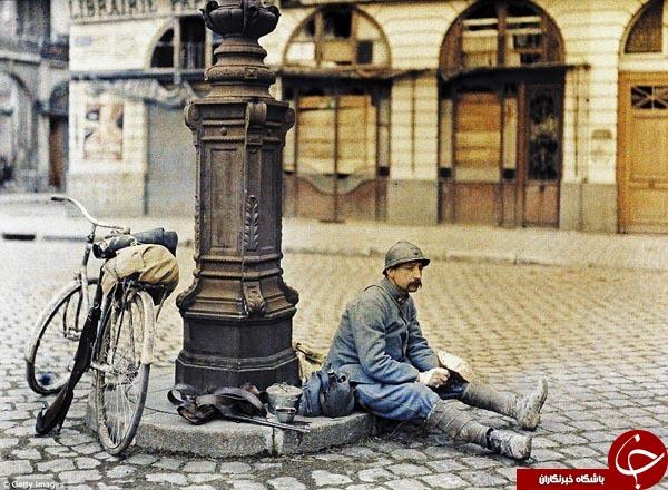 تصاویر دیده نشده از جنگ جهانی اول +آلبوم تصاویر