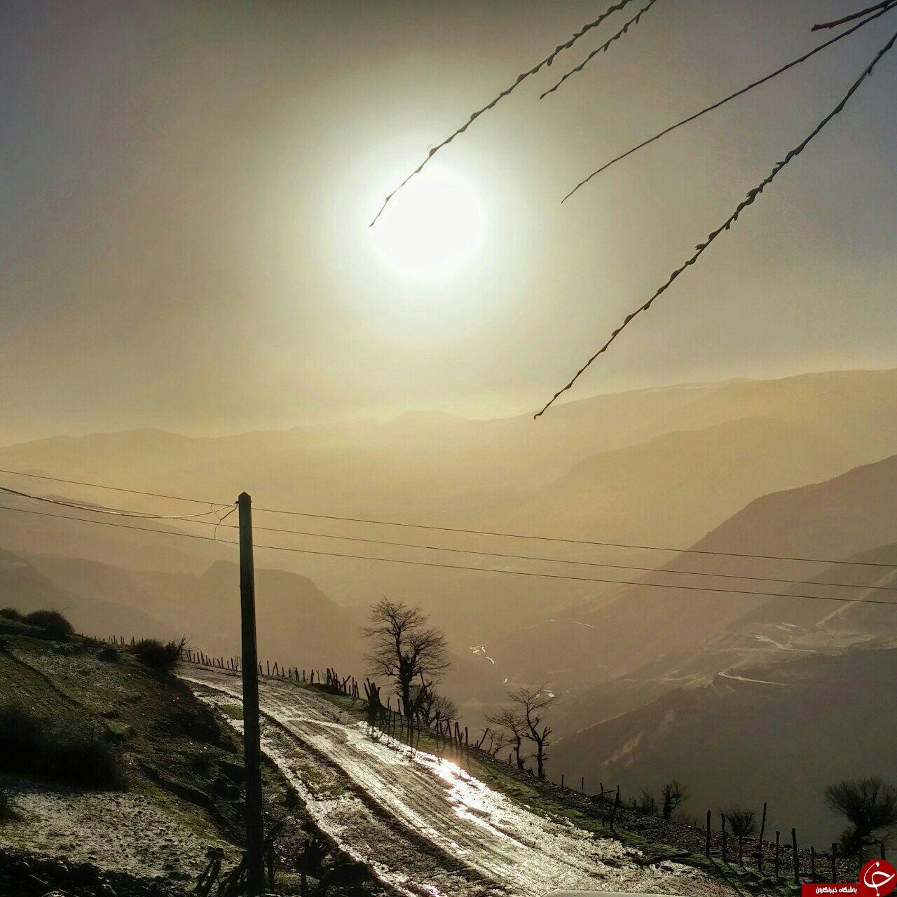 منظره ای زیبا از رودبار + تصاویر