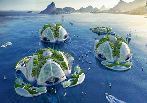 برنامهی ساخت «آسمانخراشهای اقیانوسی» اعلام شد + تصاویر