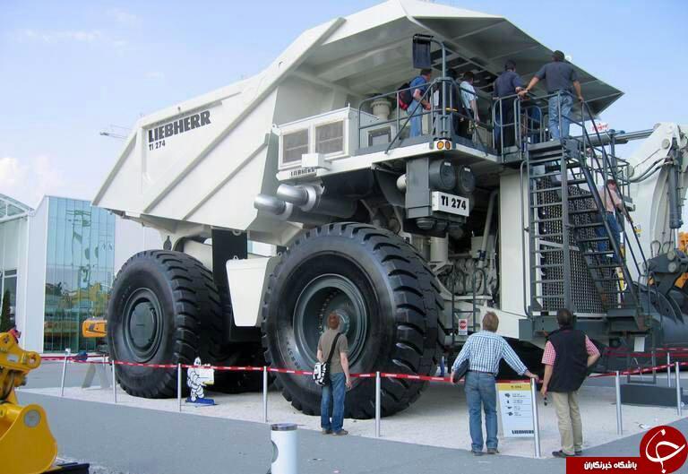 غول پیکرترین کامیون های جهان+تصاویر