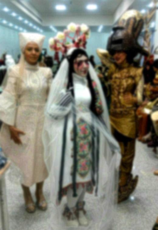 چهره زشت بالماسکه و هالووین در دانشگاه الزهرا! / باز هم یک غفلت فرهنگی مشهود