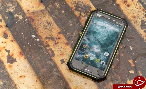 موبایلی که همانند تانک است!