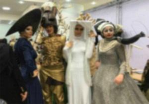 تصاویر شوی مد در دانشگاه الزهرا