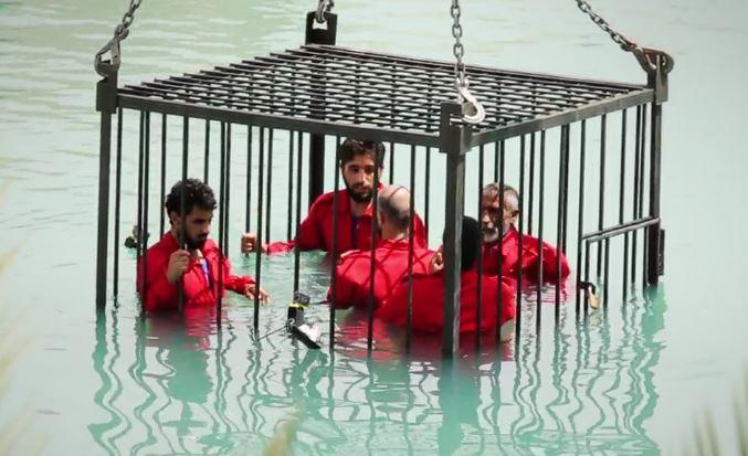 ثبت تصاویر نفرتانگیزی از عناصر داعش در رستوران لندن +تصاویر