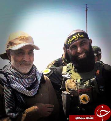 سلفی ابوعزرائیل با سردار سلیمانی + تصویر
