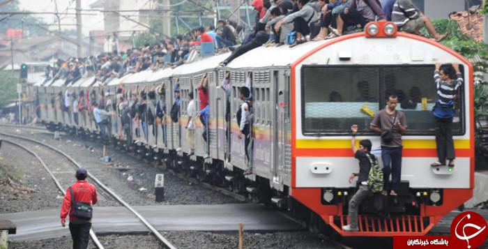 حرکت عجیبی که در اندونزی روزمرگی یافته + عکس