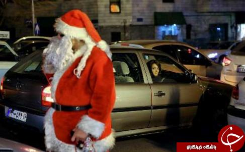 بابانوئل در تهران +عکس