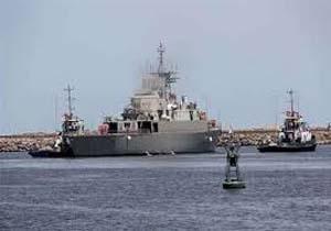 ناوگروه سیوهشتم نیروی دریایی ارتش عازم آبهای آزاد شد