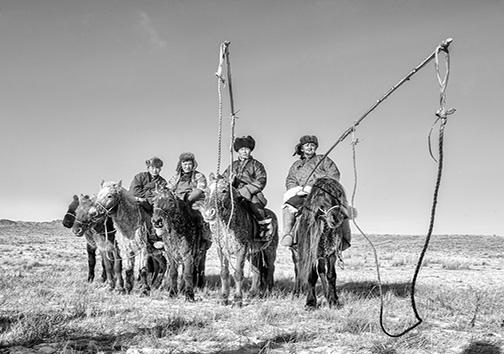 مغولستان/ملتی که بر روی اسب متولد میشوند + تصاویر