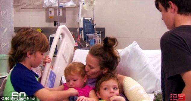 5 کودک شجاع مادرشان را از مرگ نجات دادند
