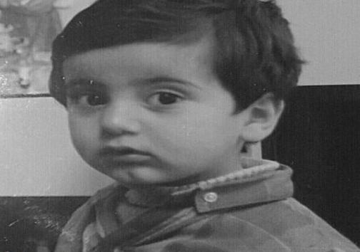 تصویری از کودکی پرویز پرستویی