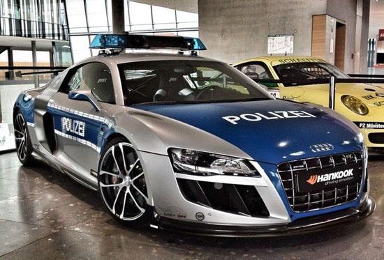 برترين خودروهای پلیس در جهان+تصاوير!