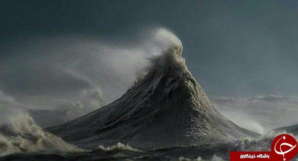 امواج خروشان زیبای دریا در قاب دوربین + عکس