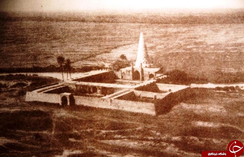 عکس قدیمی از مقبره دانیال در شوش