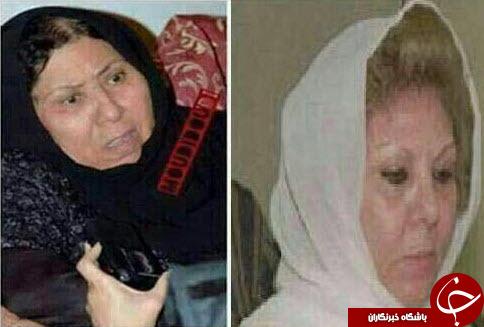 زن صدام در اردن به صدام پیوست +عکس