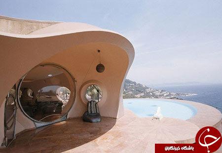 هتلی با طرح حباب در فرانسه + عکس