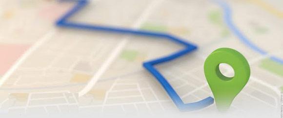 انتقال مکان نقشه های گوگل به سایجیک + دانلود