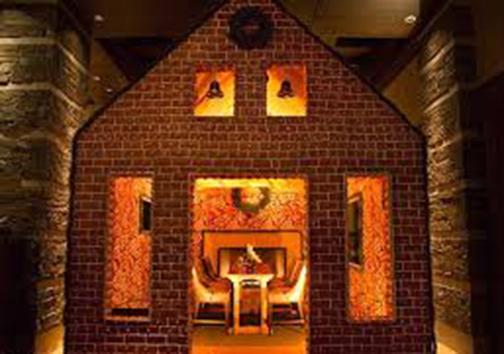 خانه ای از جنس شیرینی که می توان داخلش نشست! + تصاویر