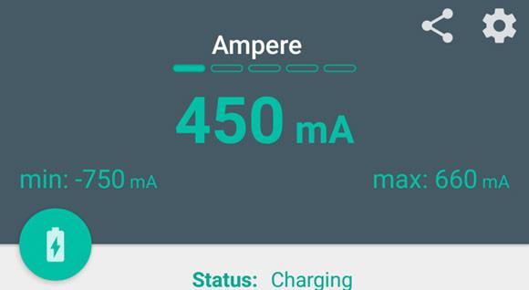 """با """"Ampere"""" شارژ تلفن همراهتان را مدیریت کنید + دانلود"""