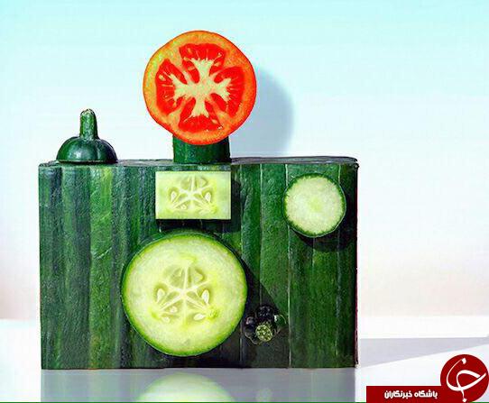 دنیای جالب وخلاقانه خوراکی ها+تصاویر
