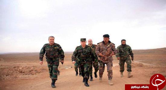 دو ژنرال تاثیر گذار تحولات میدانی سوریه + تصاویر