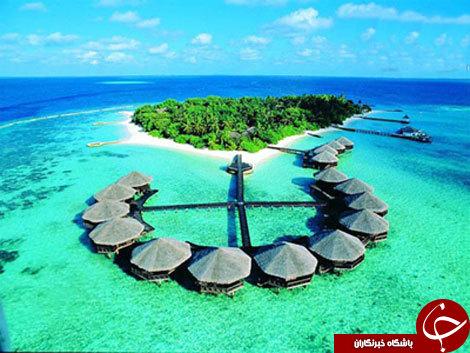 زیباترین وشگفت انگیز ترین جزیره دنیا+تصاویر