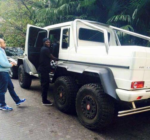 خودروهای عجیب بازیکنان فوتبال+تصاویر