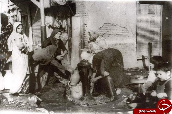 مرزبان ایرانی/صنعت نفت در دهه 60/ترافیک سنگین درشکه ها در تهران