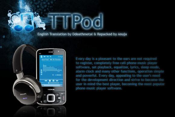جدیدترین نسخه پخش کننده موسیقی TTPOD + دانلود