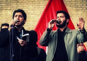 مداحیهای حماسی 9 دی حاج میثم مطیعی و امیر عباسی