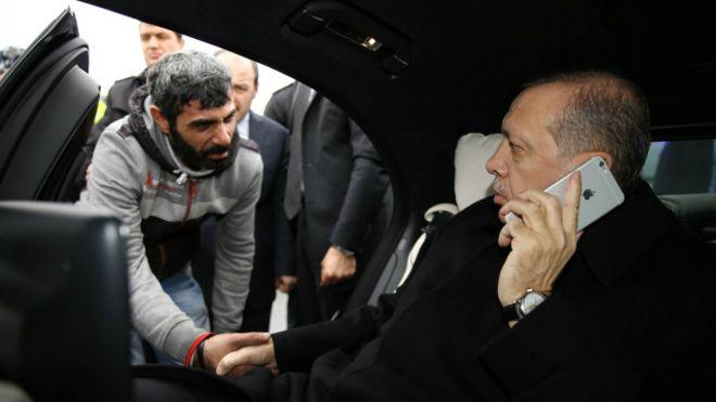 افشای هویت واقعی فردی که اردوغان فرشته نجاتش شد!