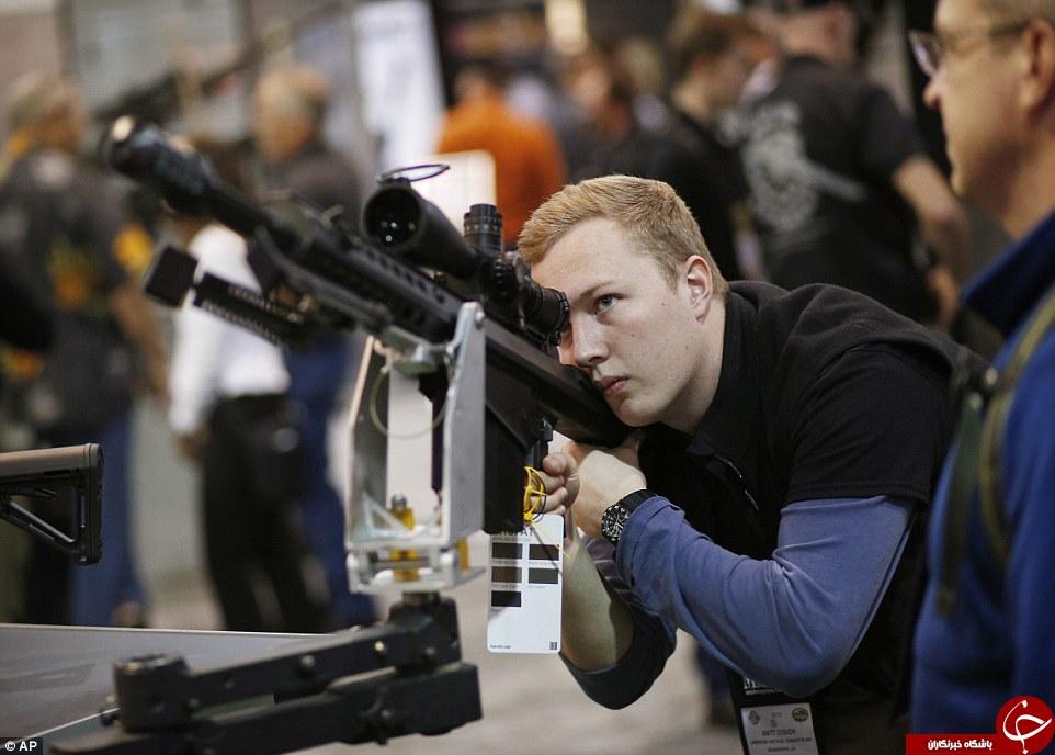 نمایشگاه اسلحه های جنگی در آمریکا + تصاویر