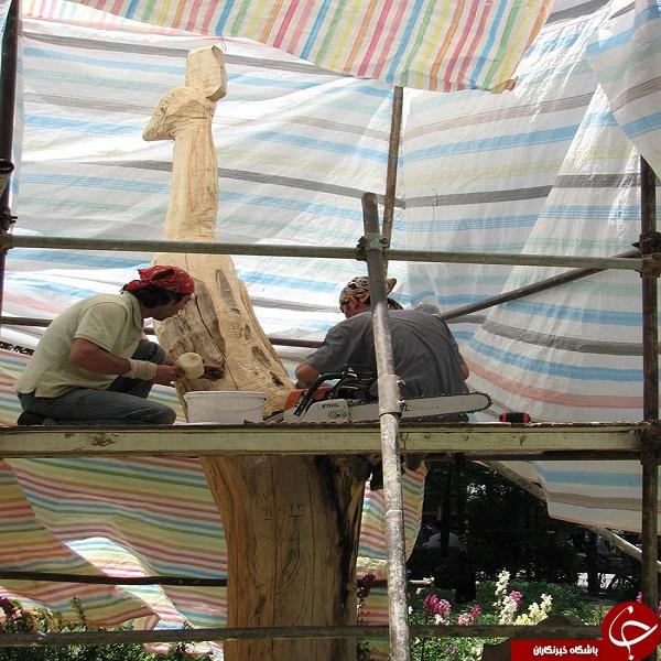 پیکرتراشی در ایل گلی تبریز + تصاویر