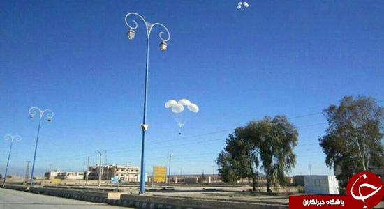 تاکتیک پرتاب محموله های هوایی روسیه در