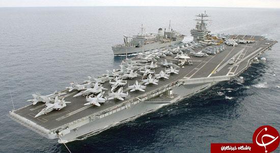 ناوهواپیمابر هری ترومن به  در خلیج فارس به دنبال چیست؟ + تصاویر