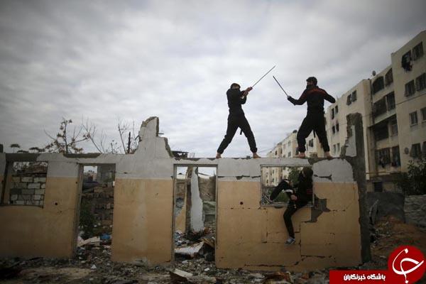 نینجاهای فلسطینی +10 عکس