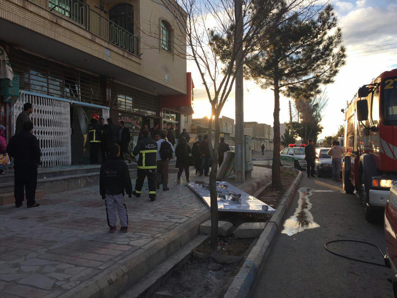 انفجار یک عکاسی در شاهین شهر بر اثر تجمع گاز