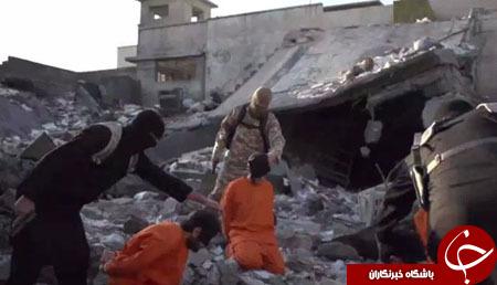 جلاد فرانسوی داعش وارد میدان شد/ اعدام 5 نفر به اتهام جاسوسی+ تصاویر
