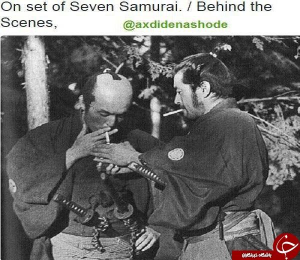 دو سامورایی در حال سیگار کشیدن/لحظه برخورد دوگلوله/پناهگاه جنگ ویتنام