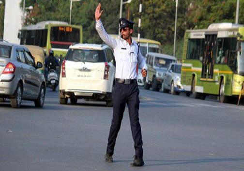 جالبترین پلیسِ هند + تصاویر